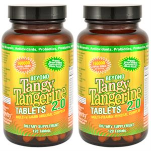 DR Wallach Youngevity 90 for Life Tangy Tangerine Tablets 2 pack