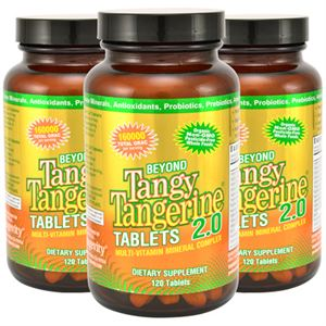 Dr Wallach Youngevity 90 for Life Tangy Tangerine Tablets 3 pack