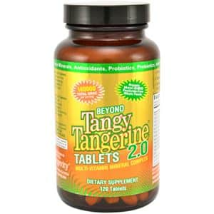 Dr Wallach 90 for Life Tangy Tangerine tablets