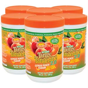 Dr Wallach 90 for Life Tangy Tangerine 6 pack