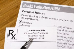 Dr Wallach Health Evaluation form
