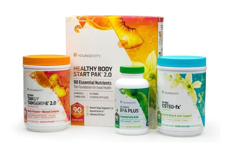 Youngevity Healthy Body Start pack